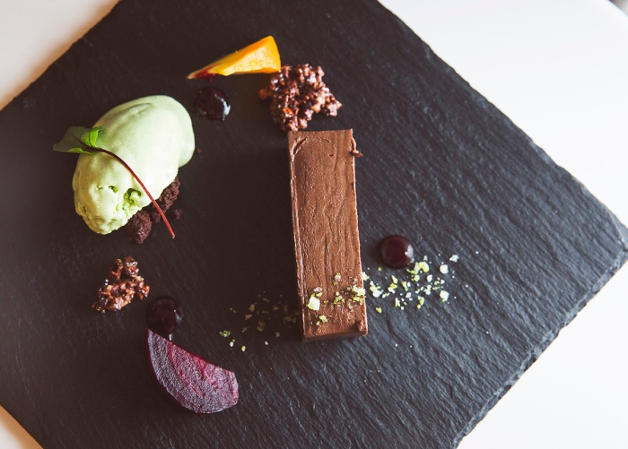 Beetroot, Sorrel, Chocolate