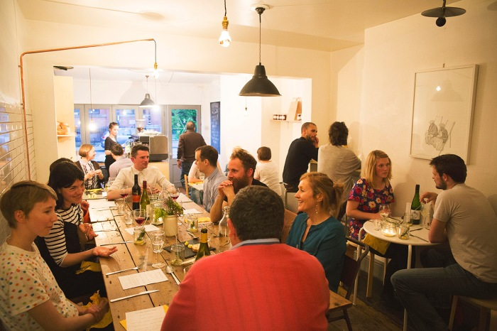 Diners at Trove