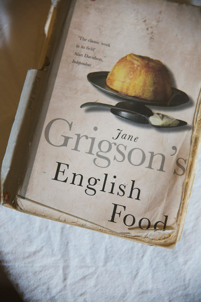 The book that inspired Neil Buttery's first blog - English Food by Jane Grigson